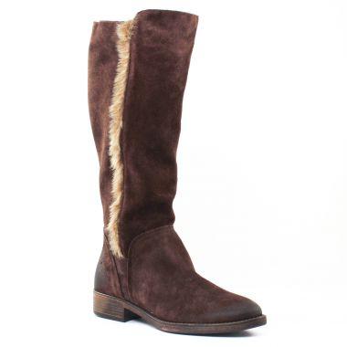 Bottes Tamaris 25539 Mocca, vue principale de la chaussure femme