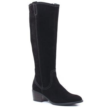 Bottes Tamaris 25537 Black, vue principale de la chaussure femme