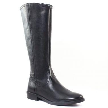 Bottes Tamaris 25596 Black, vue principale de la chaussure femme