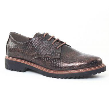 Chaussures À Lacets Marco Tozzi 23712 Copper, vue principale de la chaussure femme