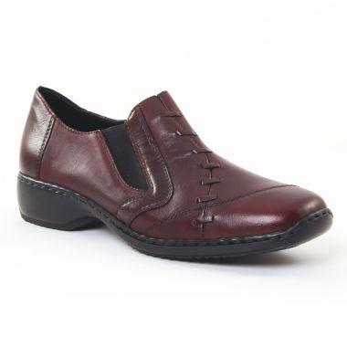 Mocassins Rieker L3874-35 Medoc, vue principale de la chaussure femme