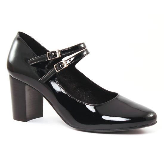 Babies Scarlatine 3032A Vernis Noir, vue principale de la chaussure femme