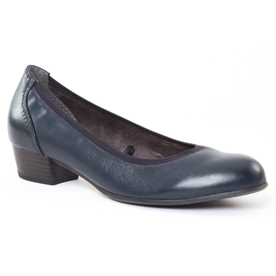 Ballerines Tamaris 22203 Navy, vue principale de la chaussure femme
