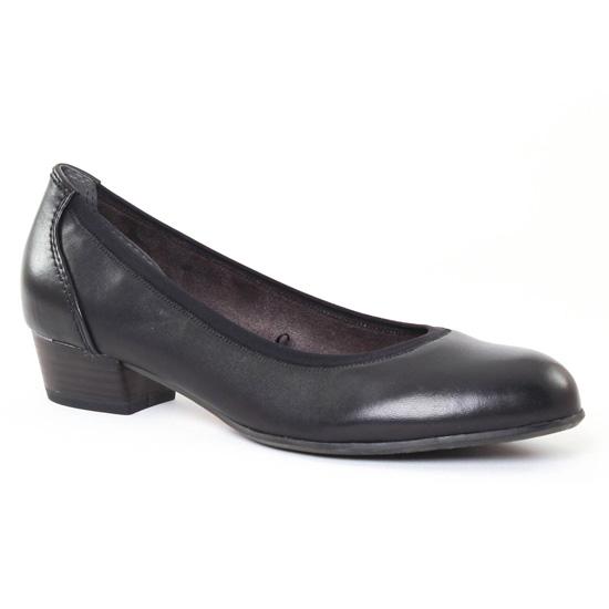Ballerines Tamaris 22203 Black, vue principale de la chaussure femme