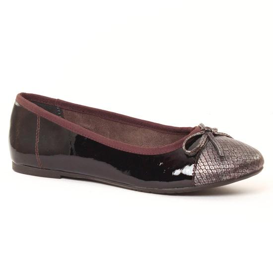 Ballerines Tamaris 22108 Wine, vue principale de la chaussure femme