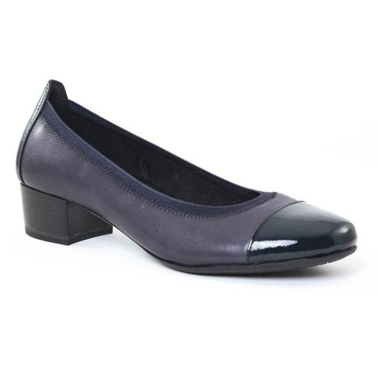 Ballerines Marco Tozzi 22302 Navy, vue principale de la chaussure femme