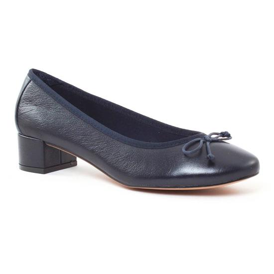 Ballerines Maria Jaen 3653N Nappa Marine, vue principale de la chaussure femme