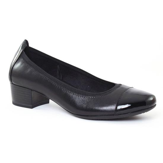 Ballerines Marco Tozzi 22302 Black, vue principale de la chaussure femme