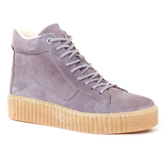 Tennis Et Baskets Mode Tamaris 25068 Grey, vue principale de la chaussure femme