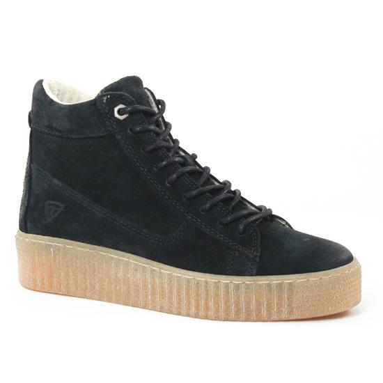 Tennis Et Baskets Mode Tamaris 25068 Black, vue principale de la chaussure femme