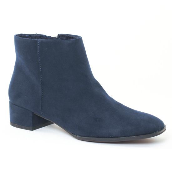 Bottines Et Boots Tamaris 25310 Navy, vue principale de la chaussure femme