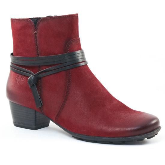 Bottines Et Boots Marco Tozzi 25390 Vino, vue principale de la chaussure femme