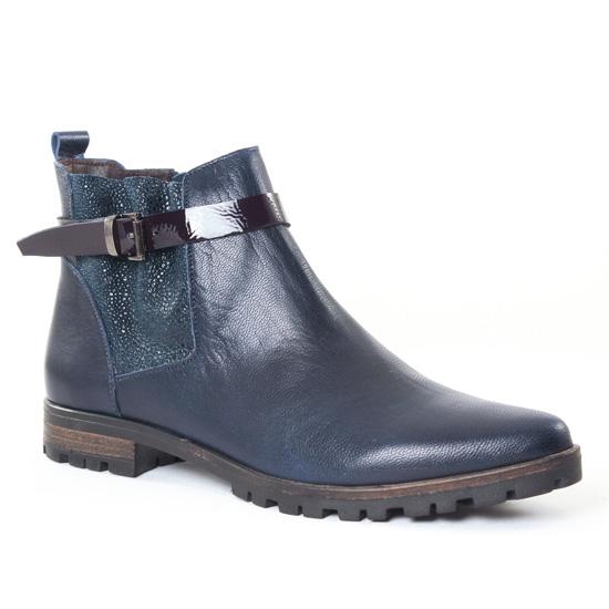 Bottines Et Boots Axell Kody Marine, vue principale de la chaussure femme