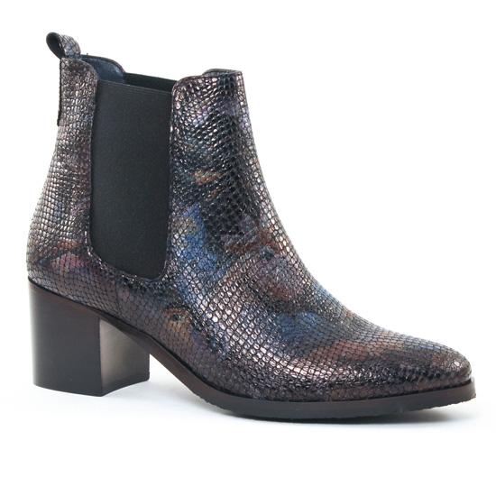 Bottines Et Boots Pintodiblu PintoDiBlu 62841 Bleu, vue principale de la chaussure femme