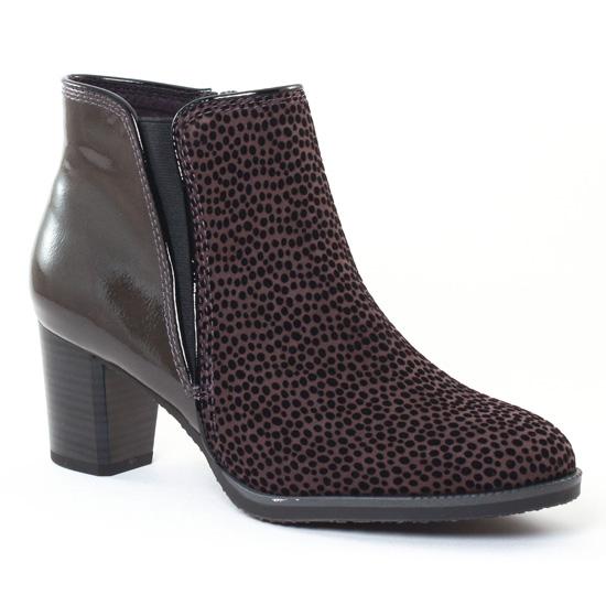 Bottines Et Boots Marco Tozzi 25326 Grey, vue principale de la chaussure femme