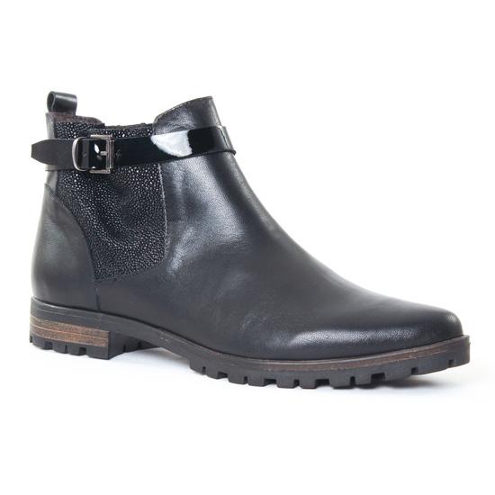 Bottines Et Boots Axell Kody Noir, vue principale de la chaussure femme