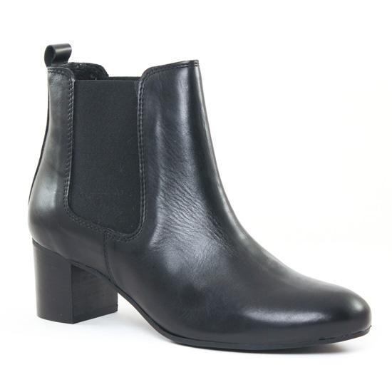 Bottines Et Boots Impact 82 Black, vue principale de la chaussure femme