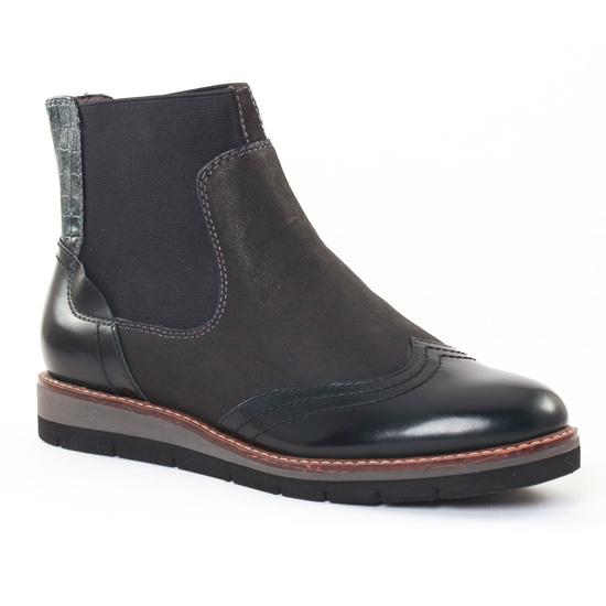 Bottines Et Boots Tamaris 25418 Black, vue principale de la chaussure femme