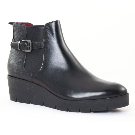 Bottines Et Boots Tamaris 25426 Black, vue principale de la chaussure femme