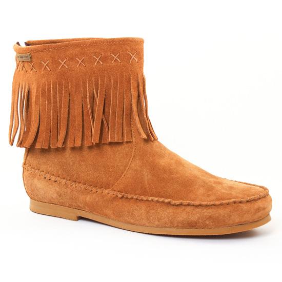 Bottines Et Boots Les Tropeziennes Crabe Camel, vue principale de la chaussure femme