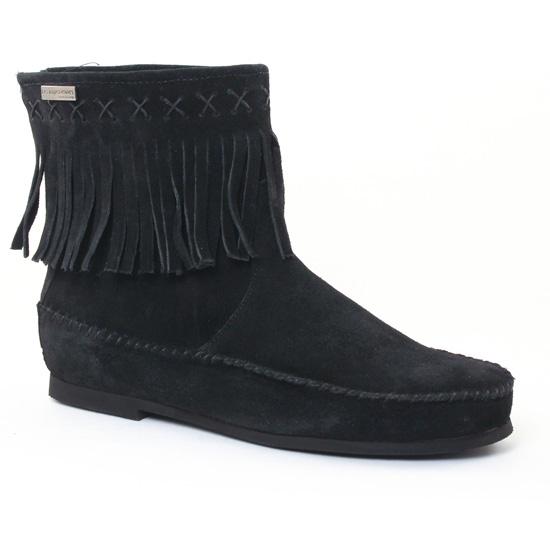 Bottines Et Boots Les Tropeziennes Crabe Noir, vue principale de la chaussure femme