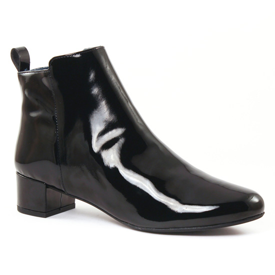 Bottines Et Boots Scarlatine 3056A Vernis Noir, vue principale de la chaussure femme