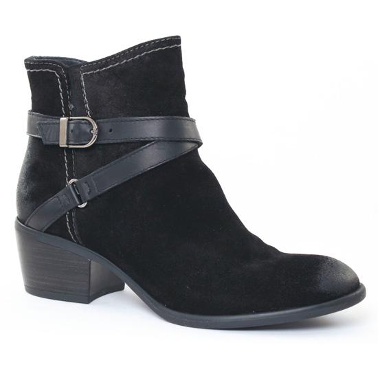 Bottines Et Boots Tamaris 25010 Black, vue principale de la chaussure femme