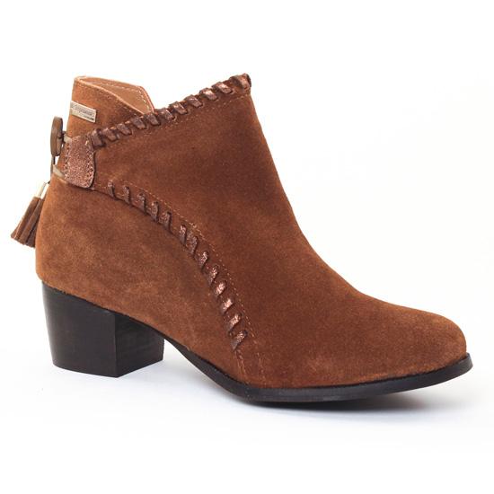 Bottines Et Boots Les Tropeziennes Madrid Marron, vue principale de la chaussure femme