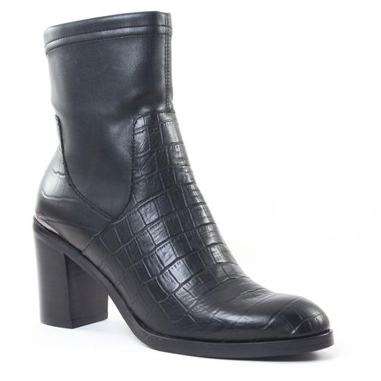 Bottines Et Boots Jb Martin Lisele Noir, vue principale de la chaussure femme