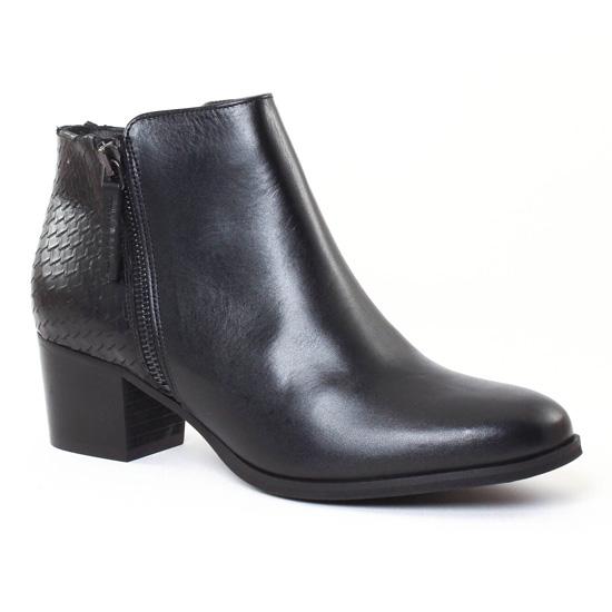 Bottines Et Boots Scarlatine 6543 Noir, vue principale de la chaussure femme