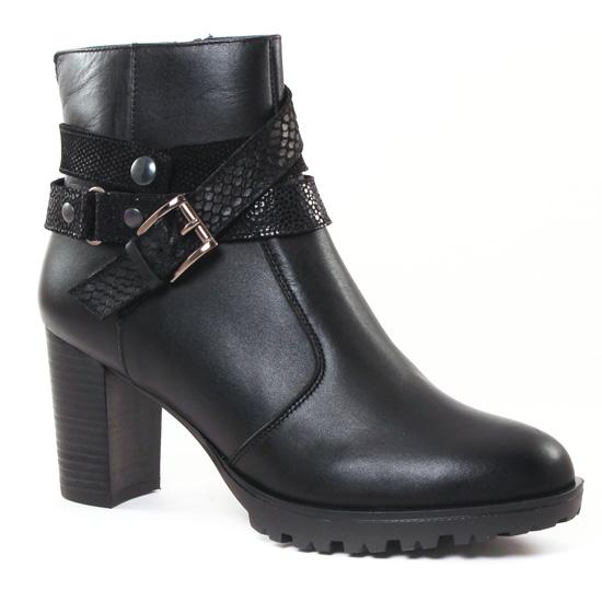 Bottines Et Boots Scarlatine 3001 Noir, vue principale de la chaussure femme