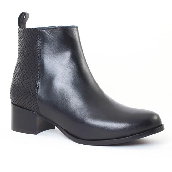 Bottines Et Boots Scarlatine 2977 Noir, vue principale de la chaussure femme