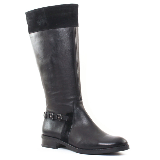 Bottes Dorking 6928 Noir, vue principale de la chaussure femme