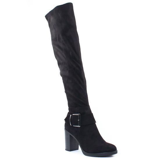Bottes Tamaris 25588 Black, vue principale de la chaussure femme