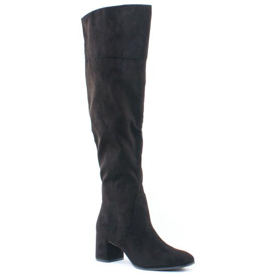 Bottes Tamaris 25592 Black, vue principale de la chaussure femme