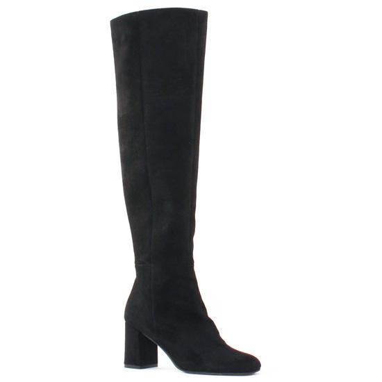Bottes Bprivate 1204 Noir, vue principale de la chaussure femme