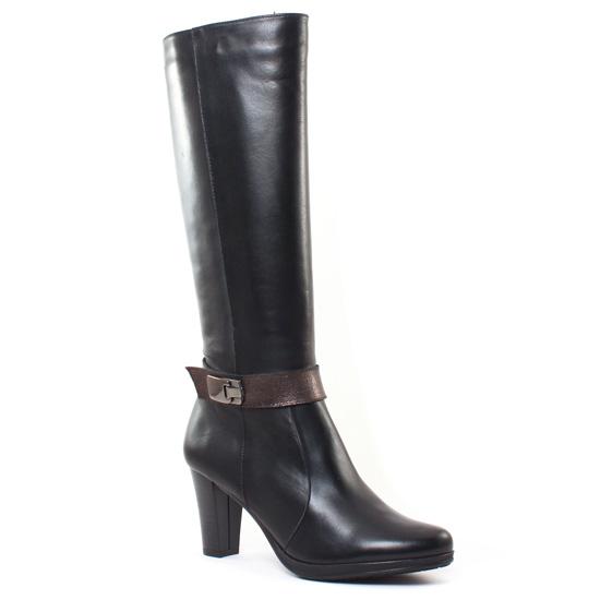 Bottes Dorking 6908 Jabot Noir, vue principale de la chaussure femme