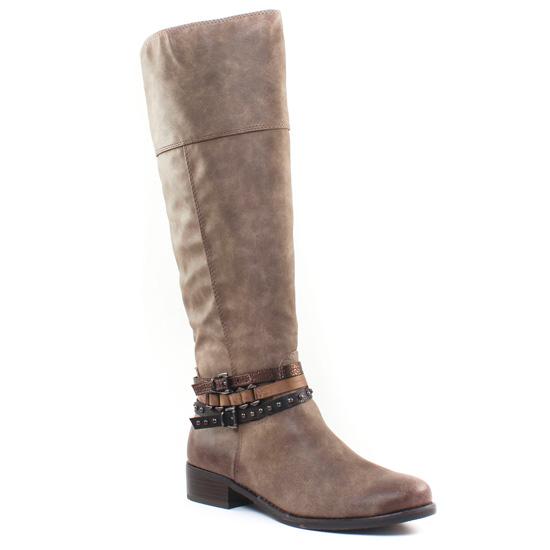 Bottes Marco Tozzi 25501 Tabacco, vue principale de la chaussure femme