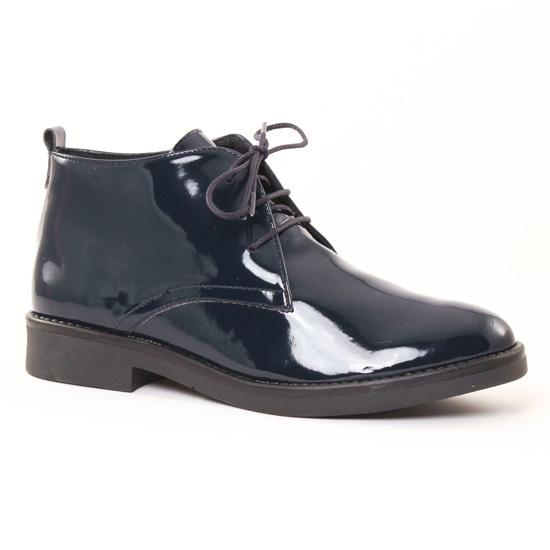 Bottines Et Boots Scarlatine 7155 Vernis Marine, vue principale de la chaussure femme