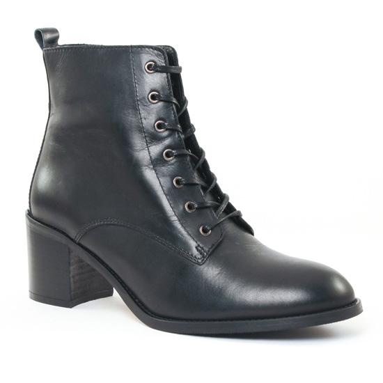 ab14fff94e2032 Bottines Et Boots Impact 656 Black, vue principale de la chaussure femme