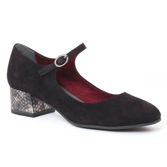 Babies Tamaris 24316 Black, vue principale de la chaussure femme