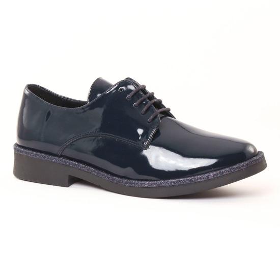 Chaussures À Lacets Scarlatine 7148 Vernis Marine, vue principale de la chaussure femme
