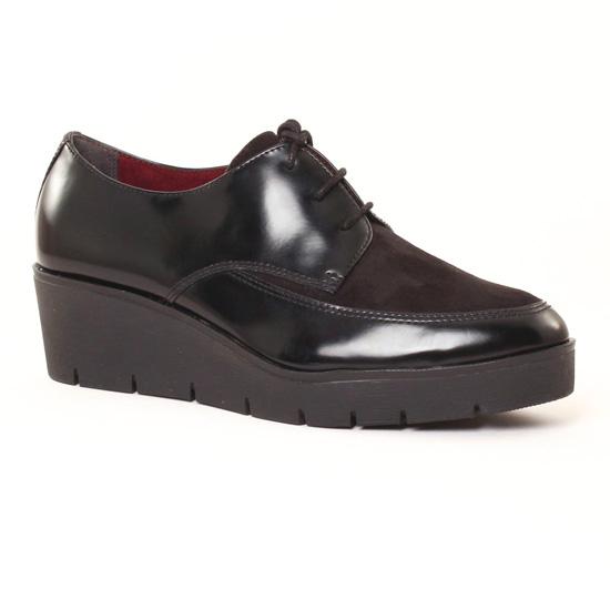Chaussures À Lacets Tamaris 23603 Black, vue principale de la chaussure femme