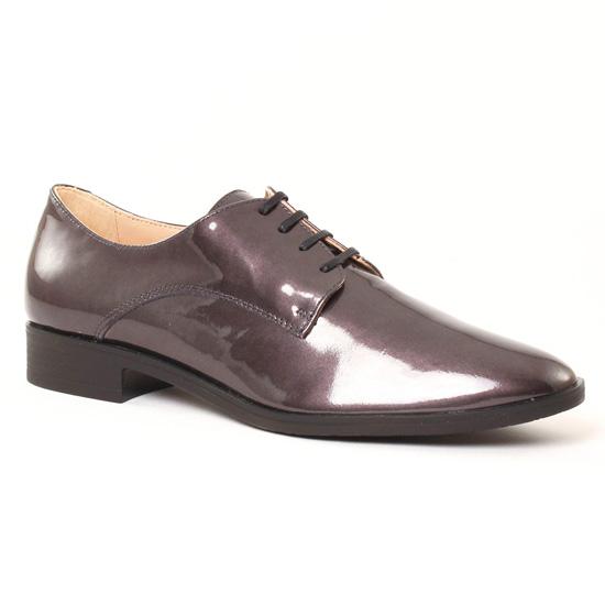 Chaussures À Lacets Jb Martin Frelon Grey, vue principale de la chaussure femme