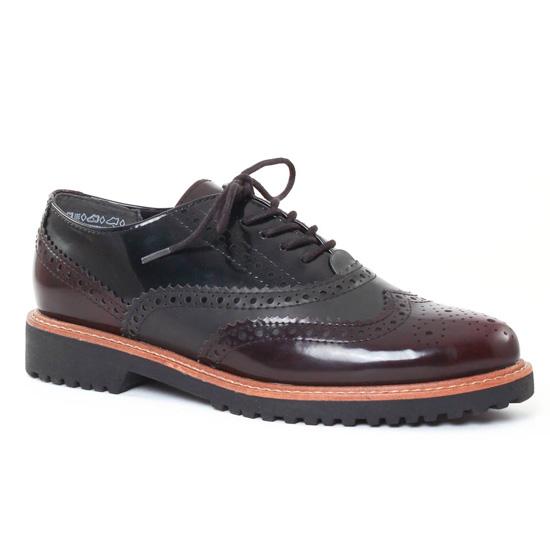 Chaussures À Lacets Marco Tozzi 23720 Bordeaux, vue principale de la chaussure femme