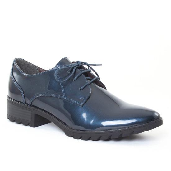 Chaussures À Lacets Tamaris 23304 Navy, vue principale de la chaussure femme