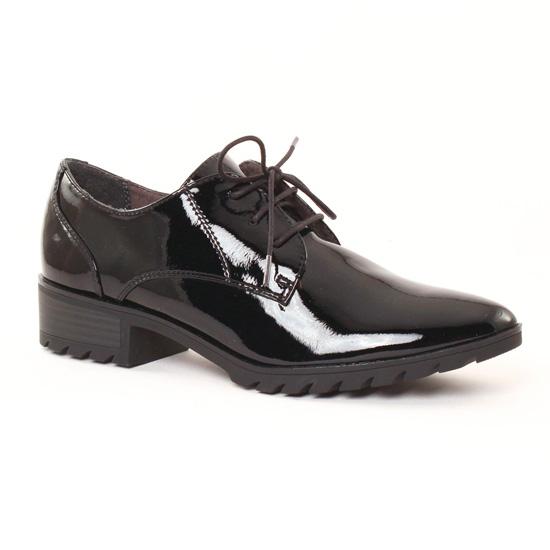 Chaussures À Lacets Tamaris 23304 Black, vue principale de la chaussure femme