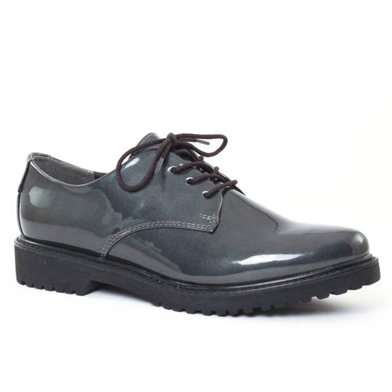 Chaussures À Lacets Marco Tozzi 23712 Pewter, vue principale de la chaussure femme