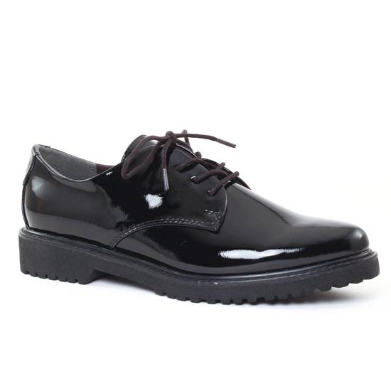 Chaussures À Lacets Marco Tozzi 23712 Black, vue principale de la chaussure femme