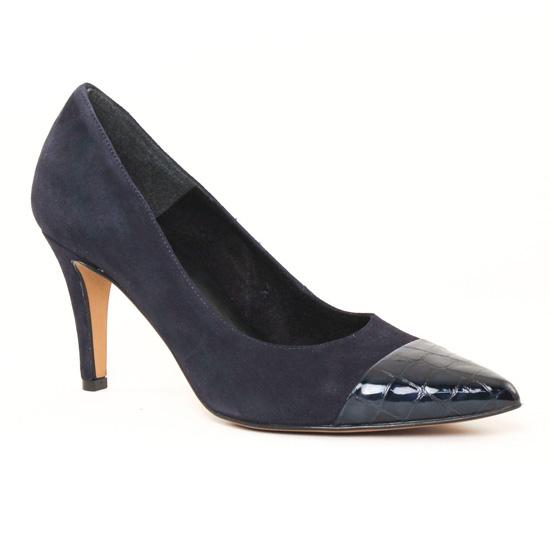 Escarpins Tamaris 22497 Navy, vue principale de la chaussure femme